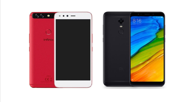 Infinix Zero 5 Vs Xiaomi Redmi 5 Plus Specifications Comparison n