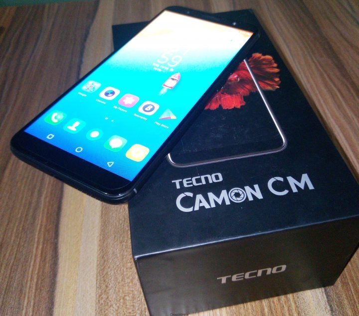 Tecno Camon CM (CMore) Unboxing Review and Antutu Benchmark 9