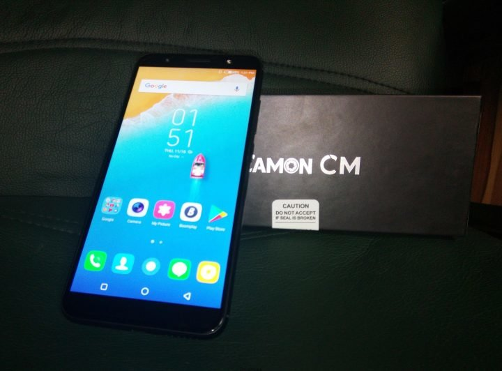 Tecno Camon CM Unboxing Review and Antutu Benchmark