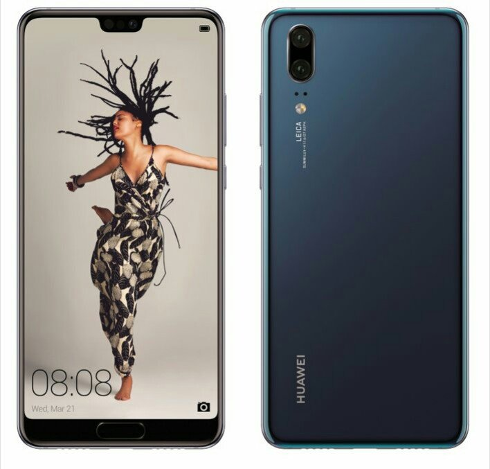 Huawei P20 Render shows up