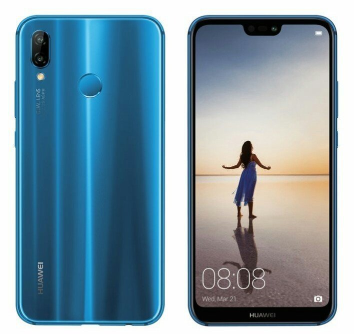 Huawei P20 Lite shows up