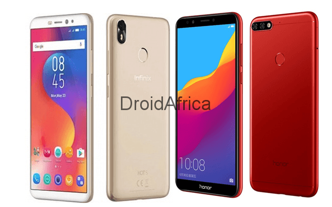 Infinix Hot S3 Vs Huawei Honor 7C: Specs Comparison