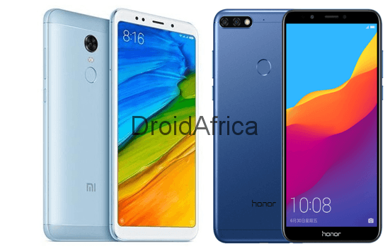 Xiaomi Redmi 5 Vs Huawei Honor 7C