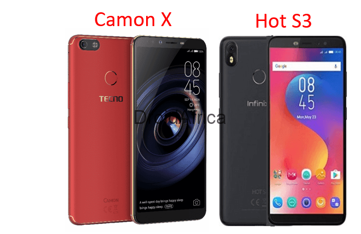 Tecno Camon X Vs Infinix Hot S3