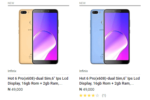 infinix Hot 6 pro Now on Jumia