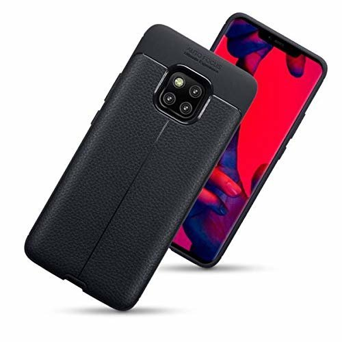 Olixar Huawei Mate 20 Pro Leather Back Case