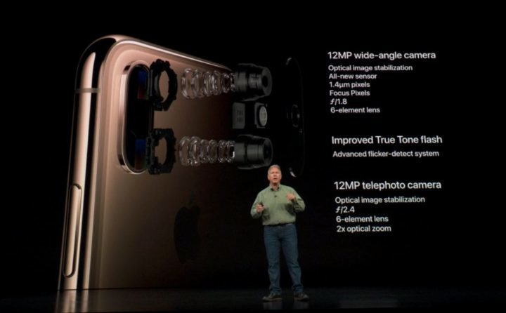Apple iPhone XS camera specs