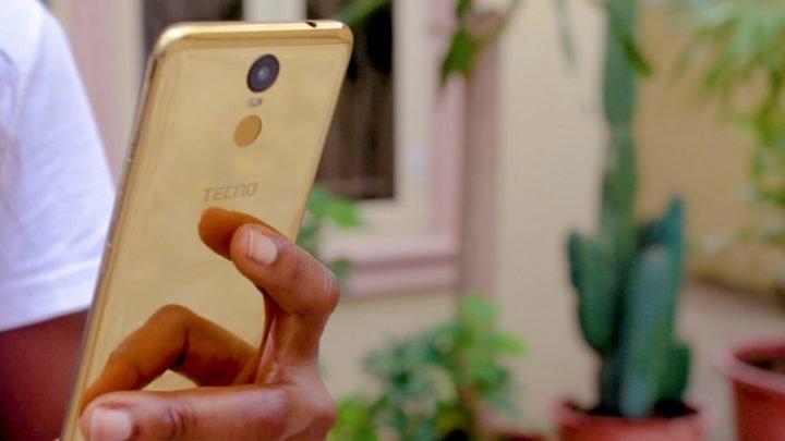 Tecno Pouvior 2 Pro 18Karat Gold Edition