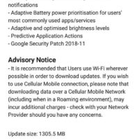 Infinix Note 5 Android 9.0 Pie updates