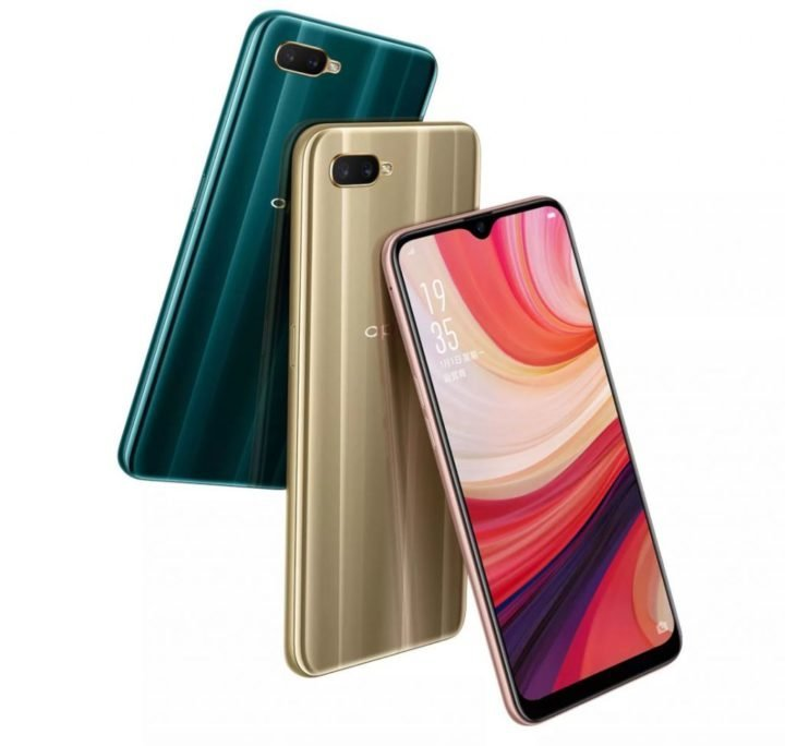 Oppo A7 features