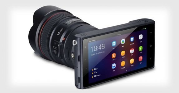 Yongnuo YN450 Android-powered mirror-less camera