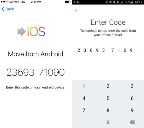 How to move SMS to iPhone from Android