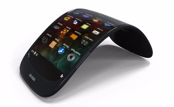 Lenovo flexible smartphone