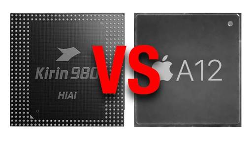 Apple A12 Bionic vs Huawei Kirin 980 CPU