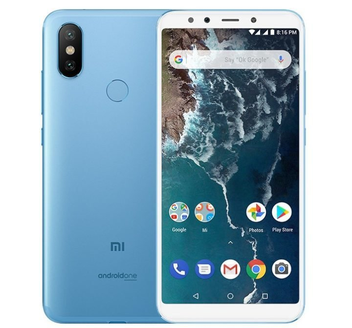 Xiaomi Mi A2, AndroidOne Smartphone with Dual Rear Camera Announced in Spain 2