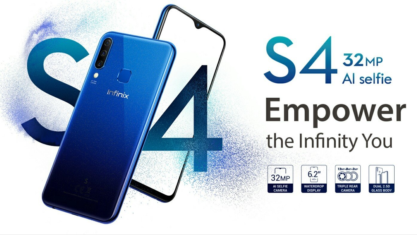 Infinix hot S4 launched