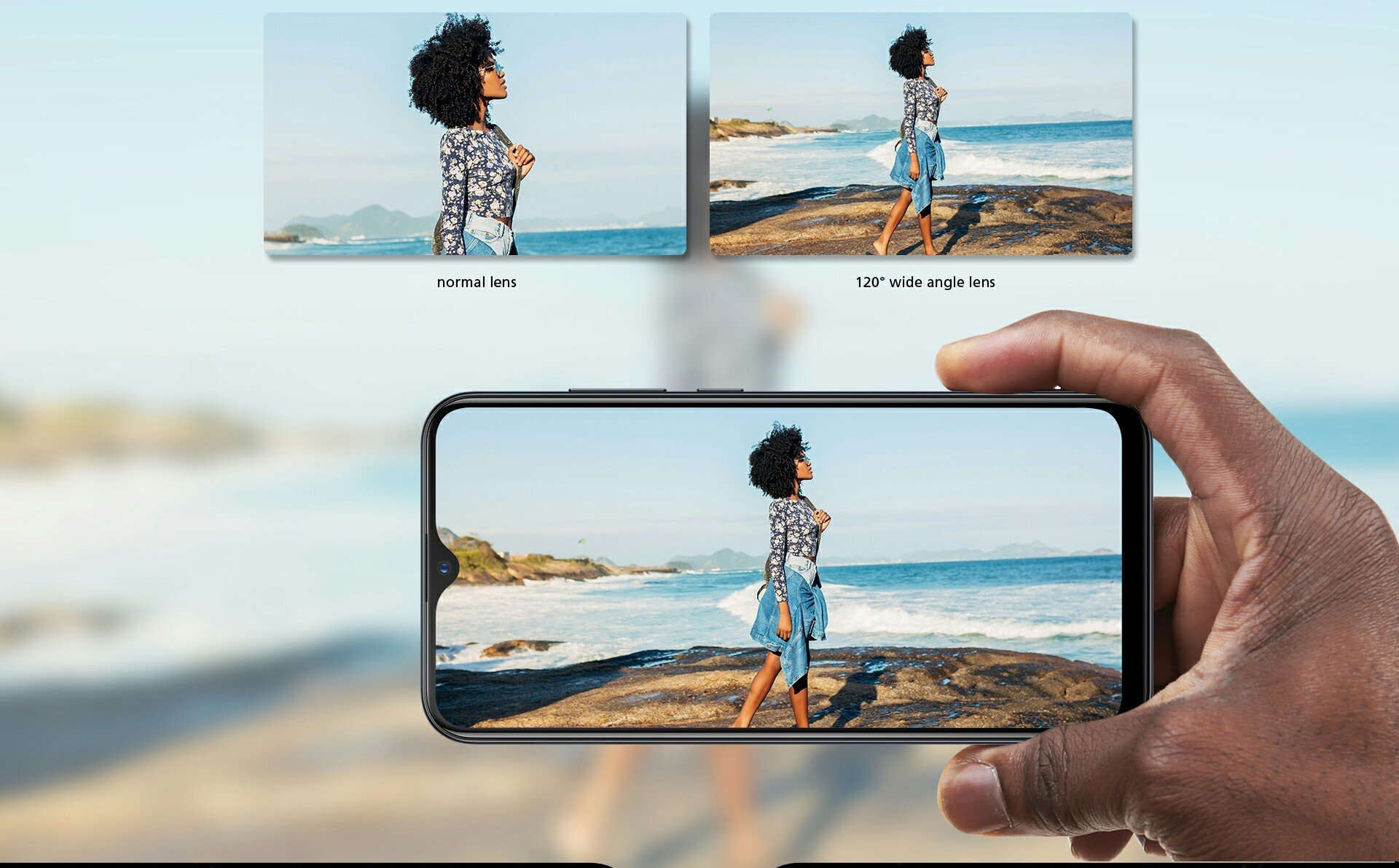 Infinix hot S4 ultra wide camera lens performance sample