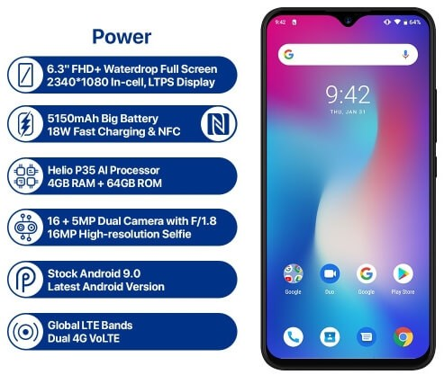 UMiDIGI Power is Here! But is it Battery Power or Processor Power? 1