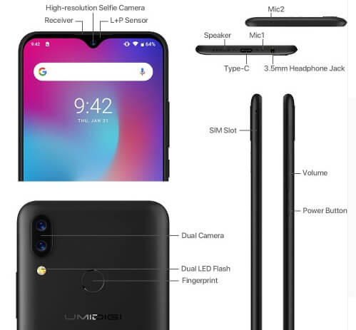 UMiDIGI Power specifications review