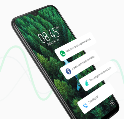 Infinix XOS 5.0 Cheetah voice notification