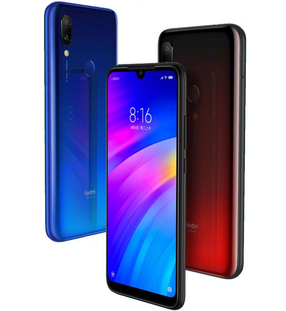 Xiaomi Redmi 7 features