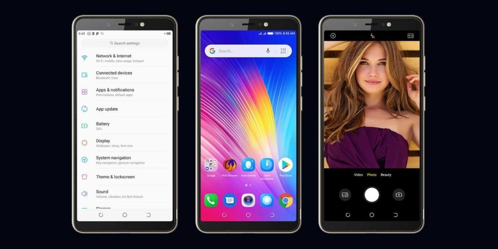 Tecno Pop 2s features