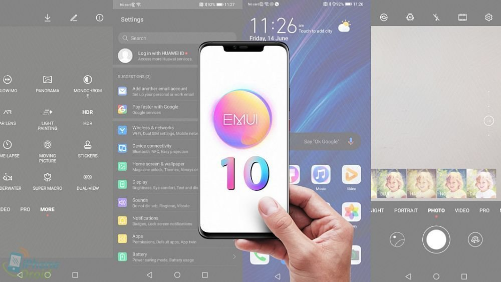 Huawei EMUI 10 features and review