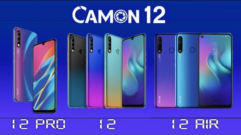Difference Between Tecno Camon 12 vs Camon 12 Pro vs Camon 12 Air