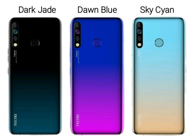 Tecno camon 12 colors