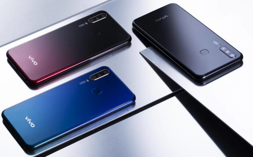 Vivo U3X colors