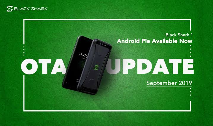 Xiaomi Black Shark 1 gets Android 9 pie