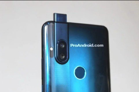 Motorola One with a pop up camera