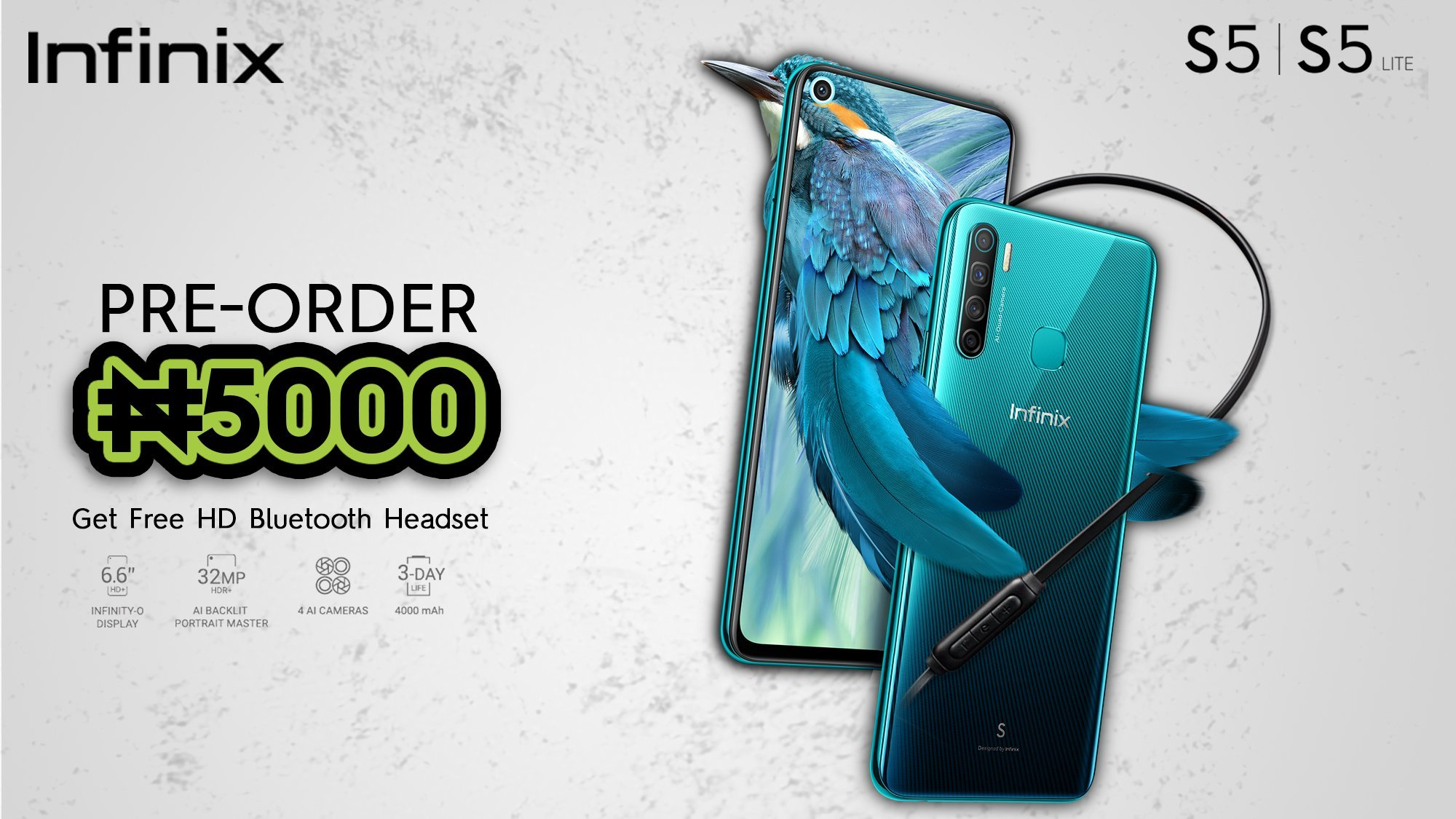 Infinix S5 launch offers in Nigeria