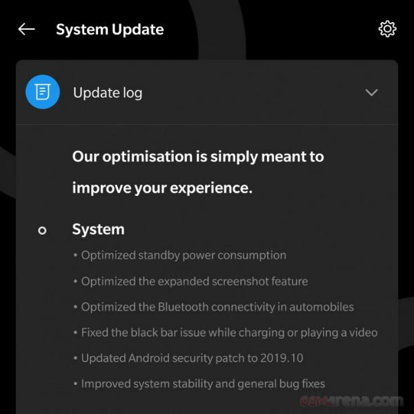 OnePlus 7T Pro OxygenOS 10.0.4 update