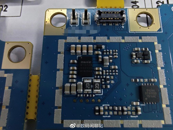 OPPO find X2 circuit board