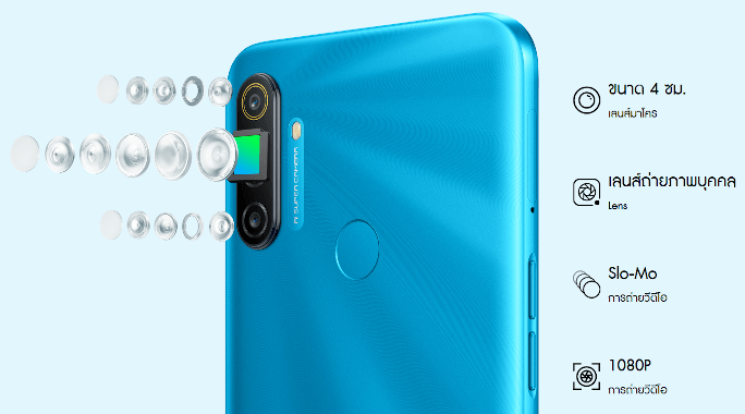 Realme C3 with triple rear camera