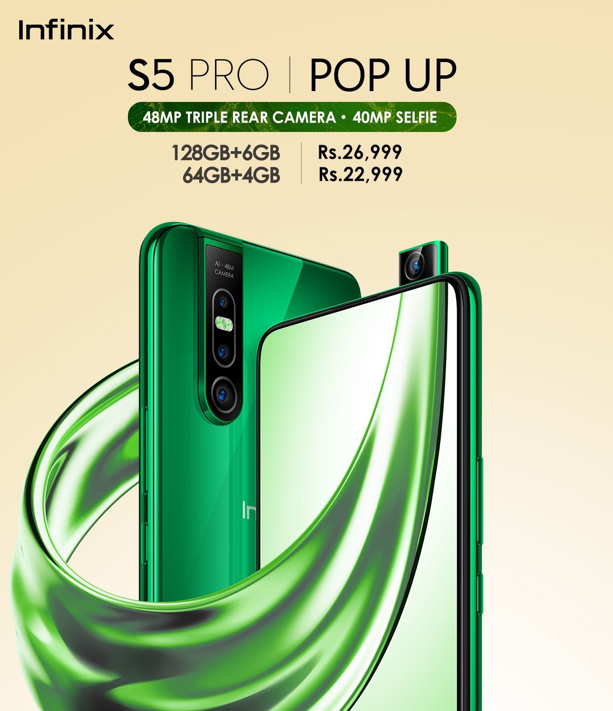 New version of Infinix S5 Pro launched in Pakistan, has 40-MP selfie 4