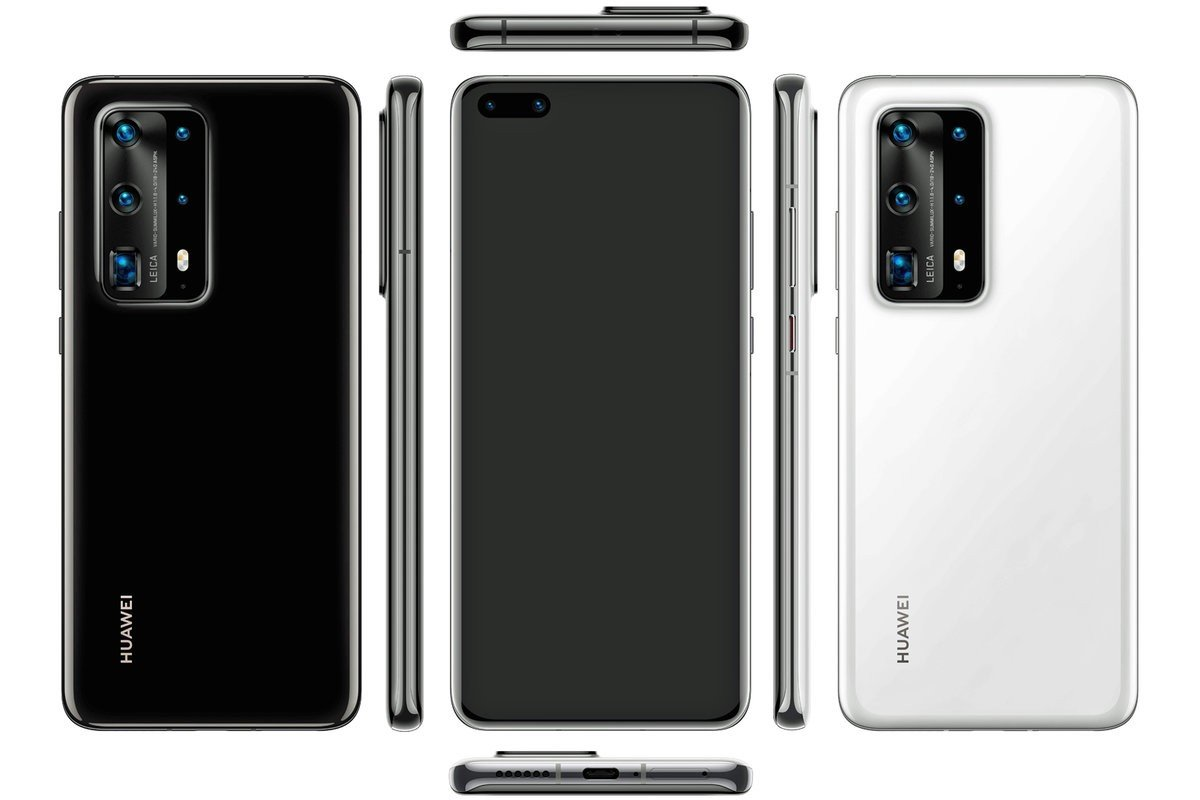 Huawei P40, P40 Pro and P40 Pro+ Details; Google Services still absent! 2