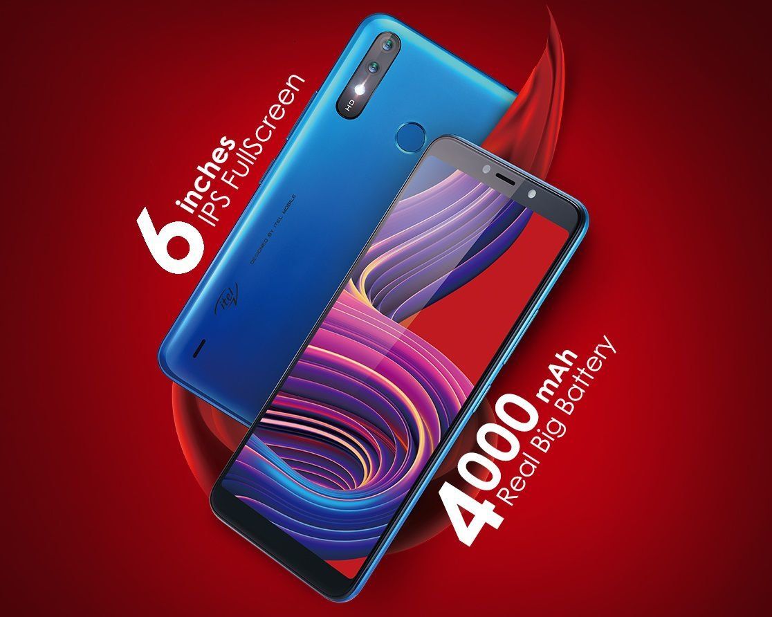 iTel A56-series Promises 54 hours music time with 4000mAh battery 2