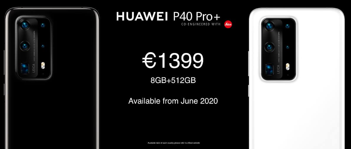 Huawei P40 Pro Plus price and availability