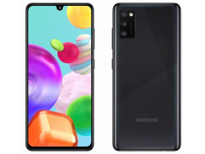 Here is the global Samsung Galaxy A41, but no water resistance 2
