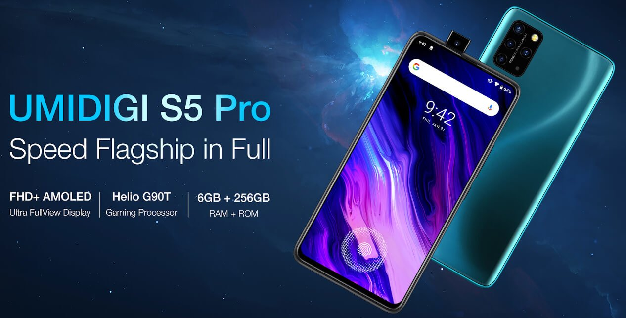 UMiDIGI S5 Pro now official; has pop-up selfie, 6GB RAM and more! 4