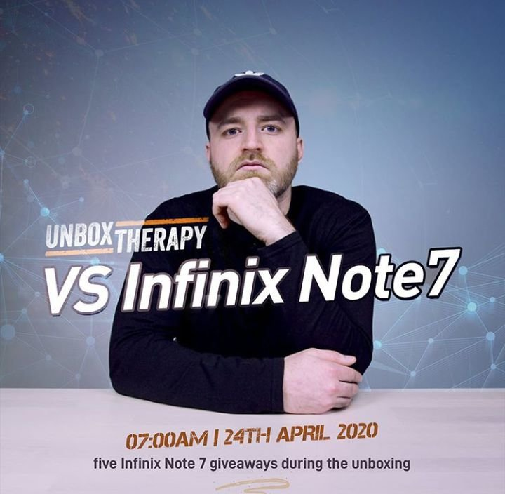 Unbox Therapy and the Infinix Note 7