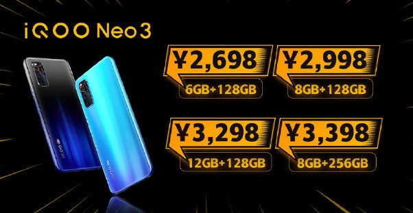 iQOO Neo 3 5G is the first Snapdragon 865 device under $400 2