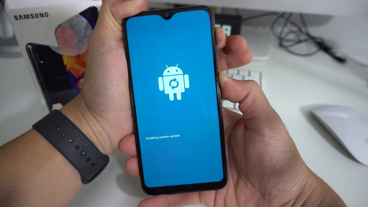 samsung galaxy a10s android update