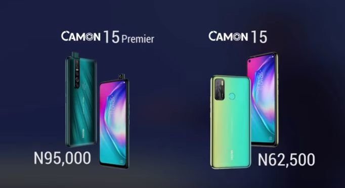 Tecno camon 15 pricing in Nigeria