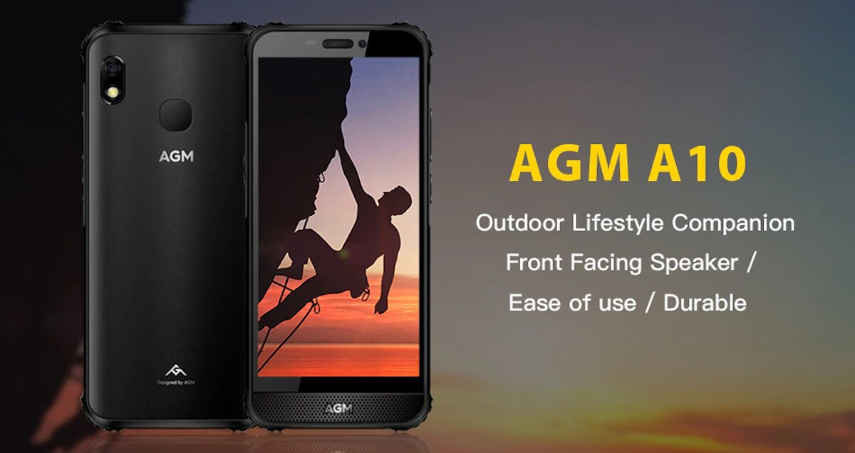 AGM A10 is the first smartphone to run UNISOC Tiger T312 CPU 1