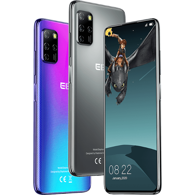 Elephone E10 Pro colors and back covers