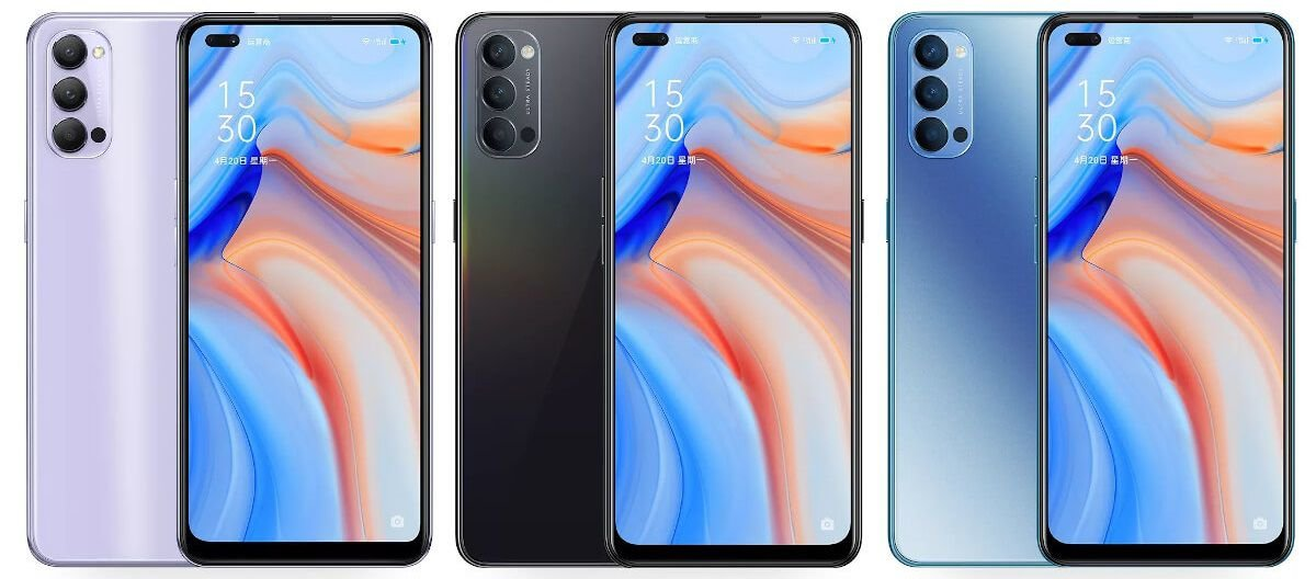 Oppo Reno 4 5G colors