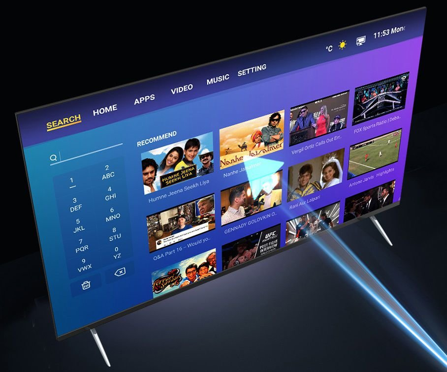 """First Infinix smart TV-series S1 with 43"""" and 55"""" screen announced 4"""